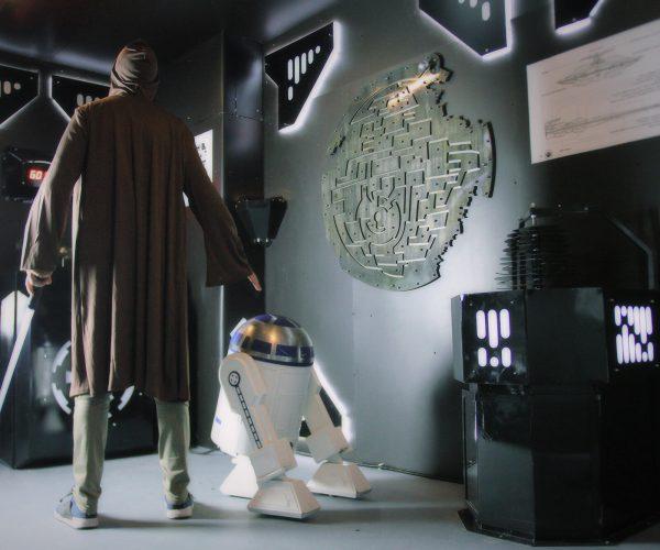 Star Wars úniková hra C3PO